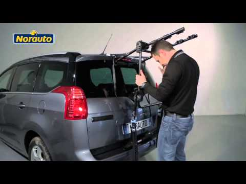 Installing btwin car rack 300 funnycat tv for Porte velo thule