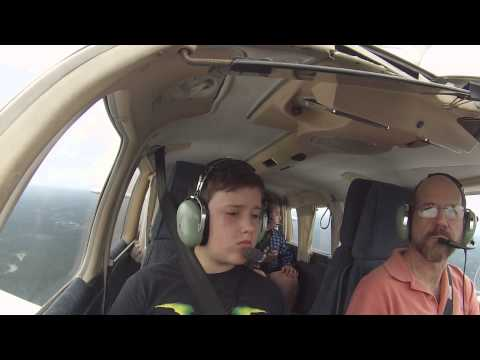 Young Eagle flight from Hartford Brainard Airport
