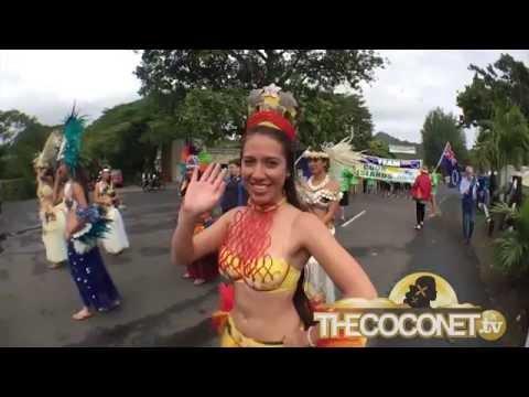 Te Maeva Nui 2015 Parade, Rarotonga, Cook Islands