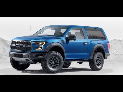 2018 Ford Bronco SUV 4x4 Expected Exterior Specifications Details