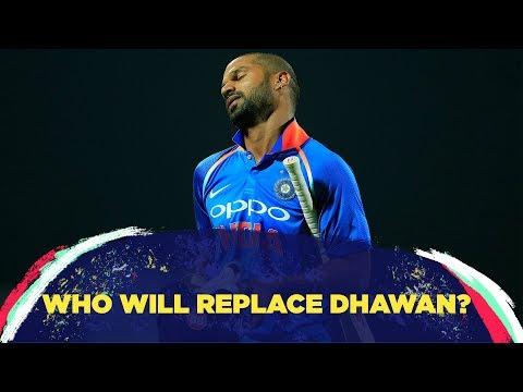 Shikhar's injury - Rahul's ticket to open?