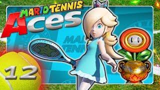 MARIO TENNIS ACES 🎾 #12: Blumen-Cup Turnier mit Rosalina