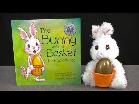The Bunny with the Basket and the Golden Egg from Just Three Chicks