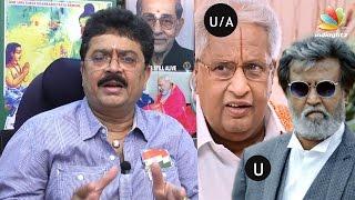 How did Kabali get U, but Manal Kayiru U/A? | SV Sekar Interview on Censor Board Issues