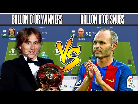 Ballon d'Or Winners VS Ballon d'Or Snubs FIFA 19 EXPERIMENT! - DISGUSTING FORFEIT Mp3