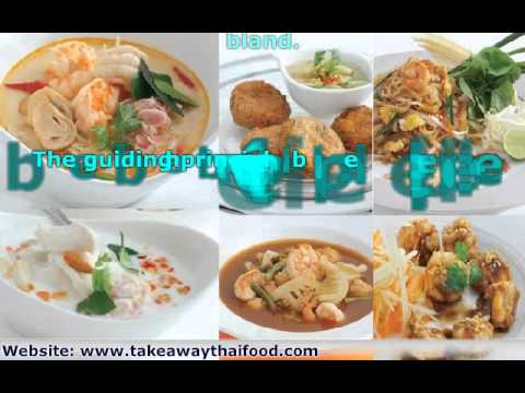 Take Away Thai Food – Billingham – Teesside
