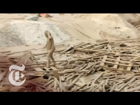 In Peru, Woman Narrowly Escapes Mudslide | The New York Times