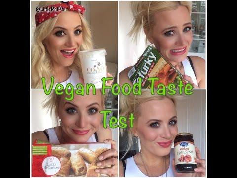 Vegan Food Taste Test!