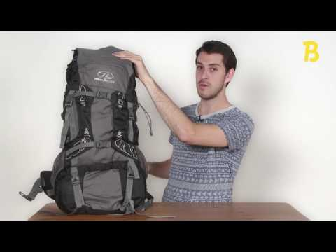0c48de18910 Highlander Discovery backpack - productvideo - review - backpackspullen.nl  - YouTube