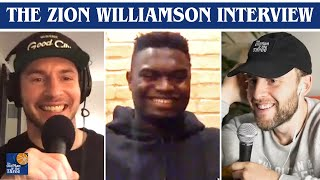 Zion Williamson On His NBA Development, Lonzo's Improvement & His Favorite Opponents | w/ JJ Redick