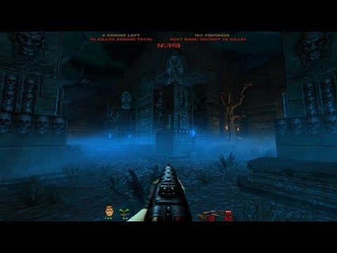 Doom Slayer Chronicles is released! | Level 1: Cemetery of Fallens [Brutal Doom v21 RC1]