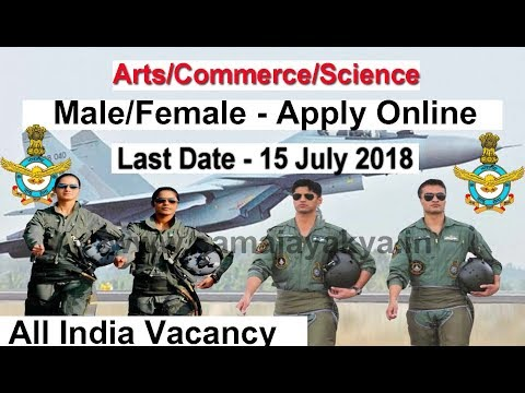 Air Force All India Vacancy 2018, Apply Online Afcat 2018, Indian Air Force Afcat 2018 #Afcat