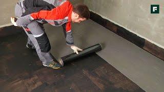 видео Жидкая гидроизоляция бетона для ванных комнат, фундамента, пола, стен