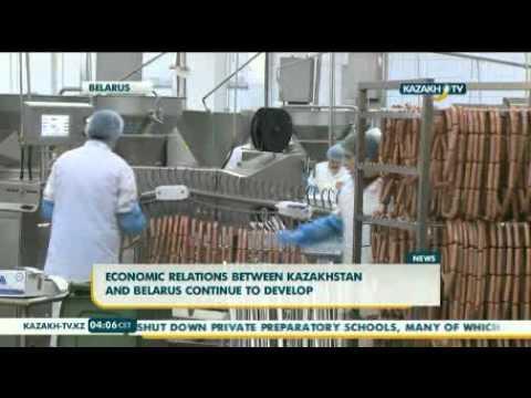 Economic relations between Kazakhstan and Belarus continue to develop