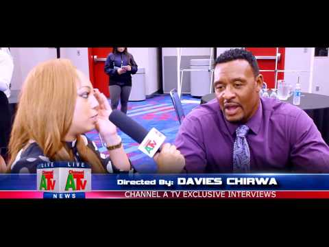Willie McGinest NFL Network Super Bowl 51 Channel A TV interview with Jazmin Anderson