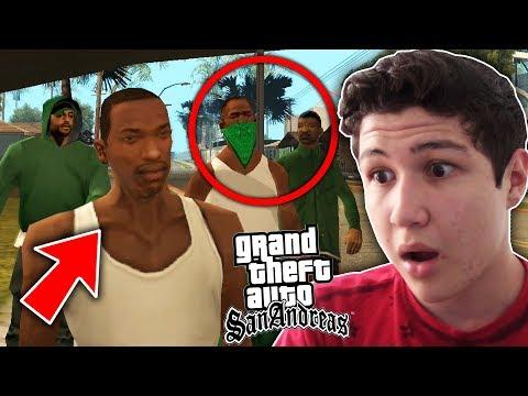 ESTA ES LA BETA DEL GTA SAN ANDREAS!! Grand Theft Auto SA thumbnail
