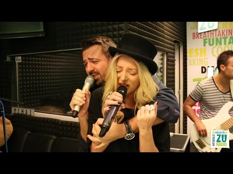 Horia Brenciu si Delia - Inima nu vrea (Live la Radio ZU)