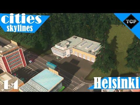 Cities: Skylines | Helsinki - Osa 14 | Metro, sekä Linja-autoasema!