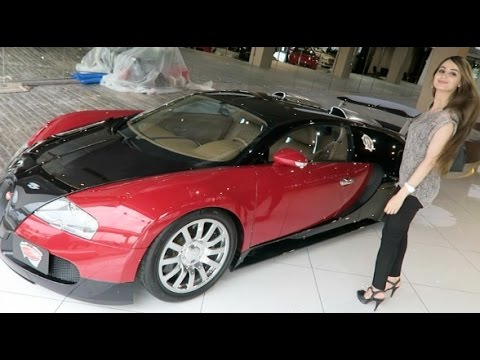 Lana goes Bugatti Shopping