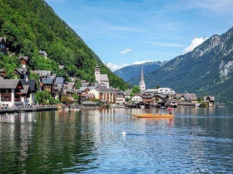 One of the Most Beautiful UNESCO World Heritage Sites, Hallstat, Austria