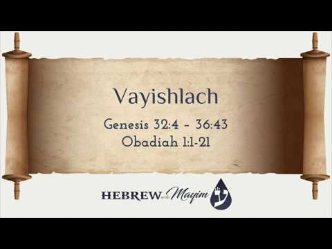 08 Vayishlach, Aliyah 3 - Learn Biblical Hebrew