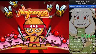 Ninjabread Man PC All Levels NMG in 9:10.02