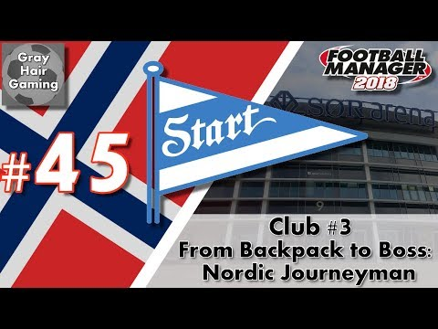 FM18 Journeyman - C3 EP45 - Can We Overcome 2 Goals on Aggregate? - IK Start -From Backpack to Boss
