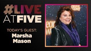 #LiveatFive with Marsha Mason of LITTLE GEM
