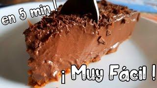 Si pruebas esta TARTA DE CHOCOLATE en 5 MINUTOS SIN HORNO Y SIN HUEVO, TRIUNFARÁS! ♡ ALIEXPRESS ♡