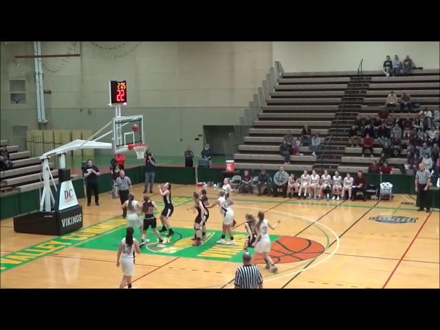 Game Highlights Girls' Varsity: Hartford 40 vs Argyle 49 (F)