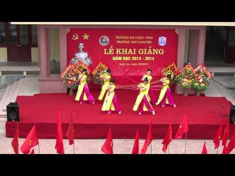 Văn Nghệ Khai Giảng Trường THPT Chuyên ĐHV 5/9/2013