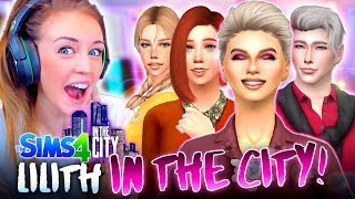 LILITH MOVES IN! 😊 (The Sims 4 IN THE CITY #58!💒)