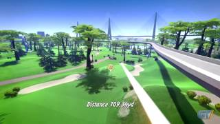 Powerstar Golf  - Par for the Course Gameplay