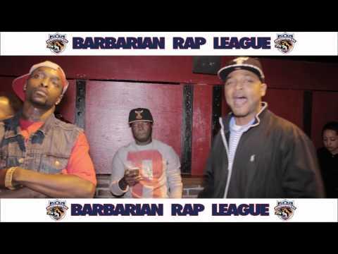 C Dot Vs Tony Bruce Barbarian Rap League Battle