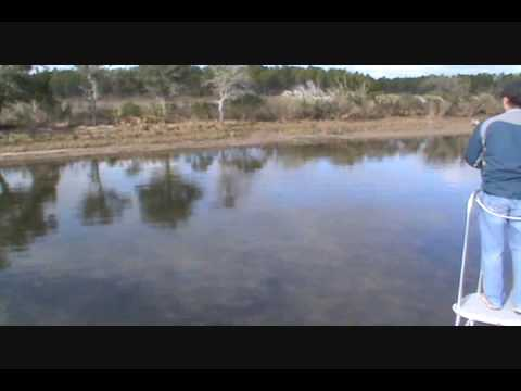 Grassy Flats Charters / Local Angler Shane, gets to try out sight fishing!.wmv