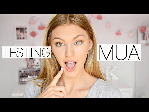 TESTING MUA MAKEUP- Does it work?