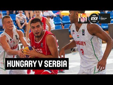 Hungary v Serbia - Full Game - FIBA 3x3 U18 Europe Cup 2018