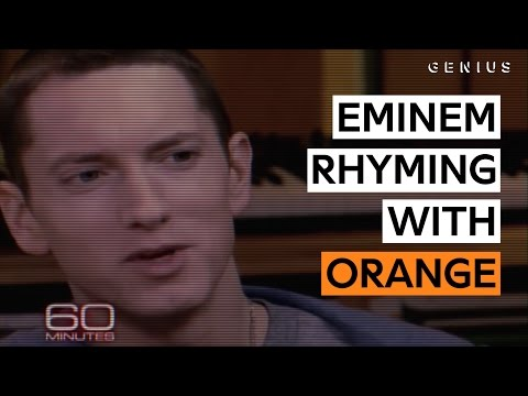 Eminem Proves There Are Plenty Of Words That Rhyme With 'Orange'