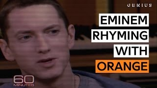 Eminem Proves There Are Plenty Of Words That Rhyme With 'Orange' thumbnail