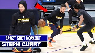 Stephen Curry  *Crazy Shots* NBA Workout