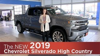 All-New 2019 Chevrolet Silverado High Country - Mpls, St Cloud, Monticello, Buffalo, Rogers, MN