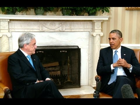 President Obama's Bilateral Meeting with President Sebastián Piñera of Chile
