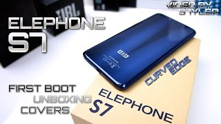 Elephone S7 (First Impressions) Curved Display, 4GB/64GB, Helio X20, Fingerprint ID, Android 6