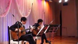 2015.12.12 山弦のstars&usです。 結婚式にて演奏させていただきました...