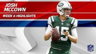 Josh McCown's Crazy Game w/ 354 Passing Yards & 2 TDs! | Patriots vs. Jets | Wk 6 Player Highlights