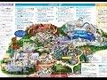 【アメリカ】 ディズニー6パーク 「日本語ガイドマップ」 (アナハイムDLR / オーラン…