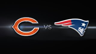 NFL Live Stream: New England Patriots Vs Chicago Bears (Live Reaction & Play By Play)