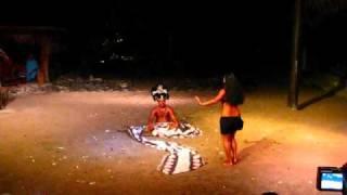 Moorea - Tiki Village - Tahitian Solo Otea