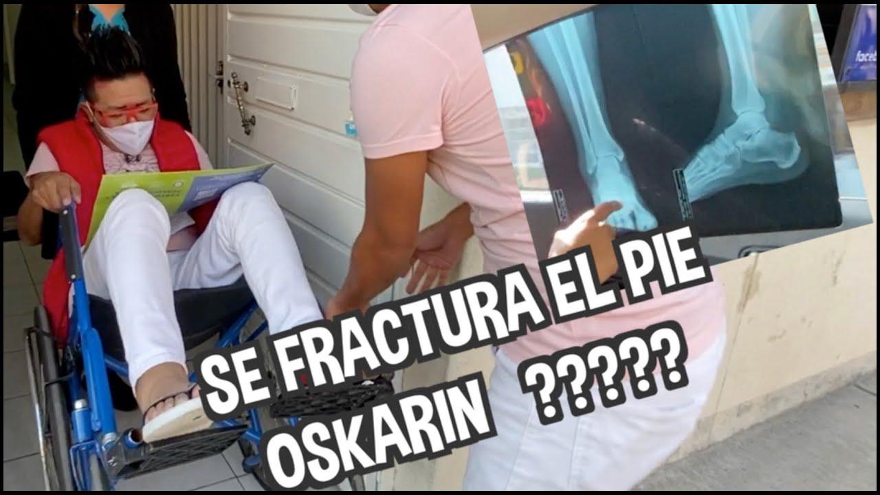 SE FRACTURA EL PIE OSKARIN ????? / LOS DESTRAMPADOS