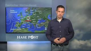 Osnabrück Unwetterwarnung 1. Juni 2016, DWD